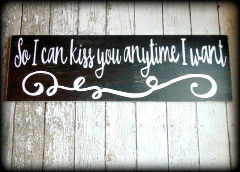 Romantic Wedding Photo Prop Love Quote Sign