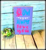 Owl Decor, Purple Bedroom Decor, In stock and Ready To Ship