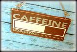 Funny Coffee Bar Sign, Office Decor