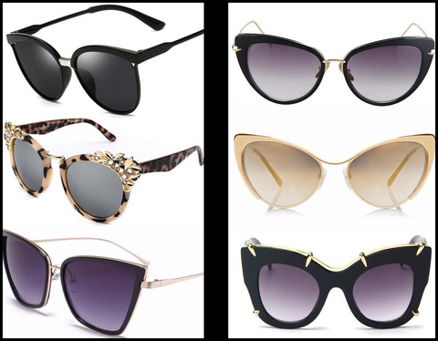 Cat Eye Sunglasses at I Love Cat Socks