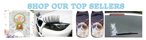 top selling items from i love cat socks