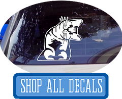 Shop Car Decals, Car Vinyls, and Wall Stickers at I Love Cat Socks