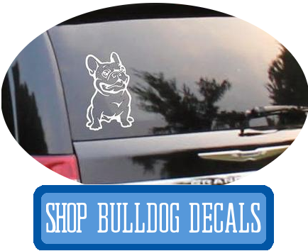 bulldog decals at i love cat socks