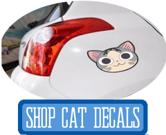 Cat Decals for your Car at I Love Cat Socks