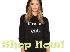 foxy cat ears hoodie from i love cat socks
