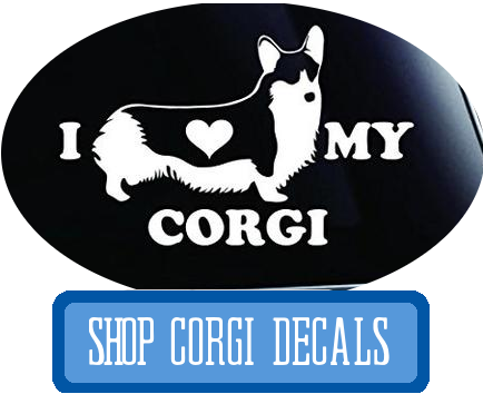 corgi decals at i love cat socks