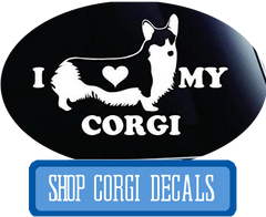 Corgi Dog Decals at I Love Cat Socks