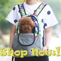 comfrotable ergonomic dog carrier from i  love cat socks