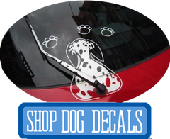 Dog Decals at I Love Cat Socks
