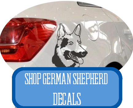 german shepherd decals at i love cat socks