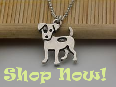 Vintage Jack Russell Terrier Necklace from I Love Cat Socks