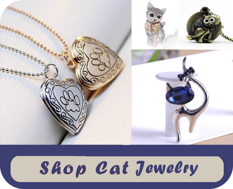 shop cat jewelry at i love cat socks