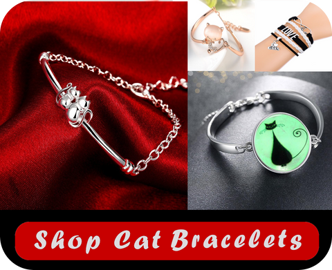 shop cat bracelets at i love cat socks