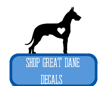 great dane decals at i love cat socks