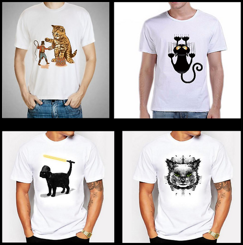summer fashions and cat shirts at I Love Cat Socks