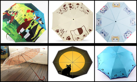 Parasol Umbrellas at I Love Cat Socks