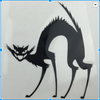 Evil Cat Car Decal