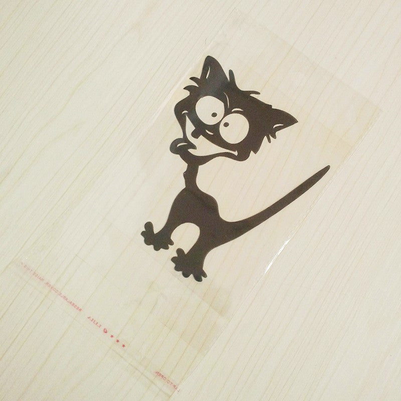 Funny Cat Car Decal