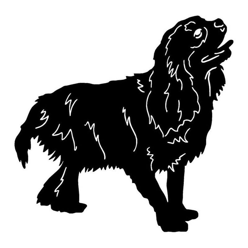 Cavalier King Charles Spaniel Dog Decal