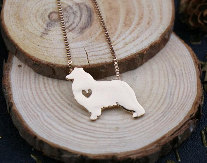 Australian Shepherd Dog Necklace