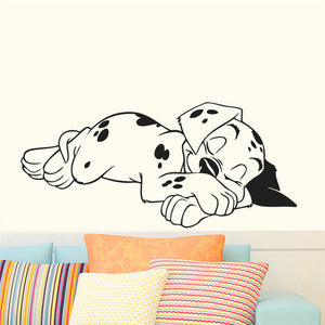 Sleeping Dalmatian Wall Sticker
