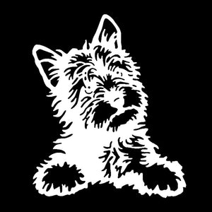 Yorkie Car Decal