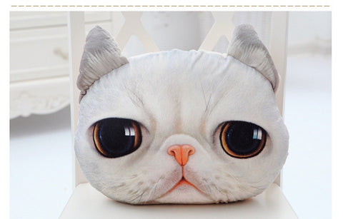 Image of Cat Face Pillows - I Love Cat Socks