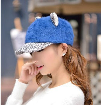 Women's Soft Cat Ears Baseball Cap - Save Over 60% Today - I Love Cat Socks - 8