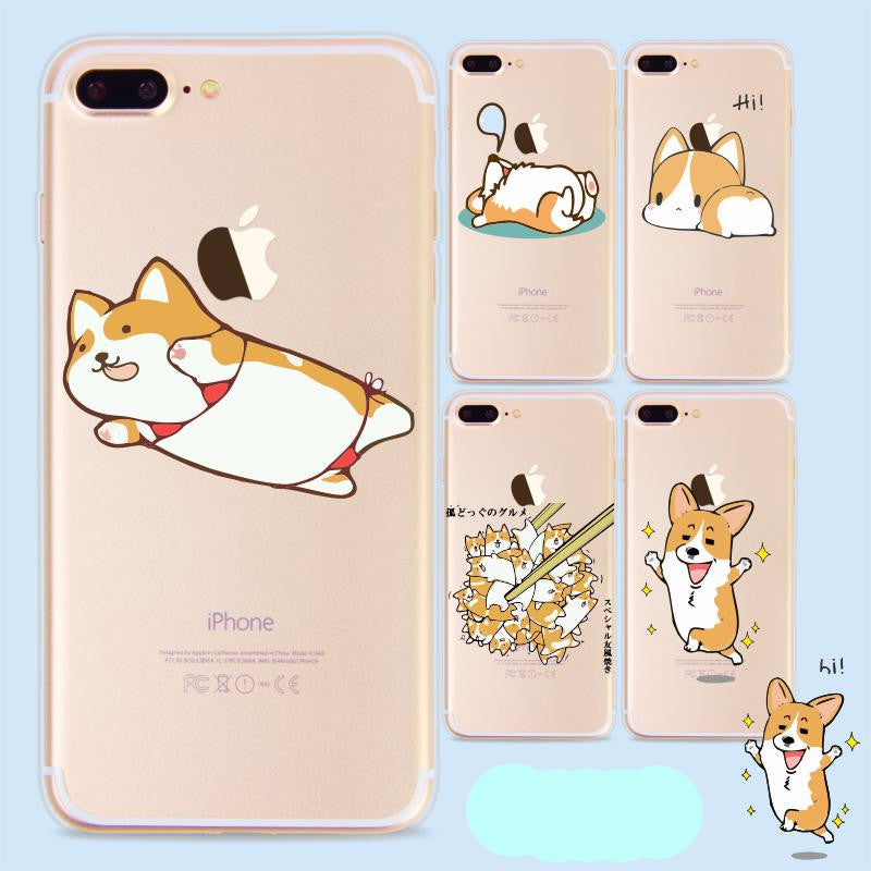 Cute Corgi Dog Iphone Case - I Love Cat Socks