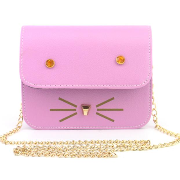 Cute Cat Face Design Shoulder Bag - I Love Cat Socks