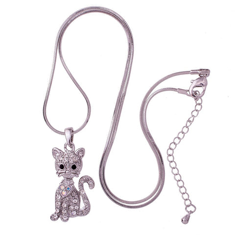 Gorgeous Cat Pendant Necklace