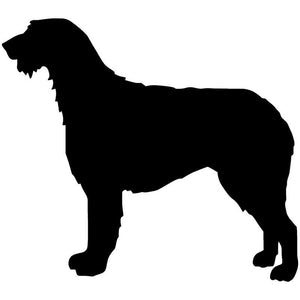 Irish Wolfhound Car Decal