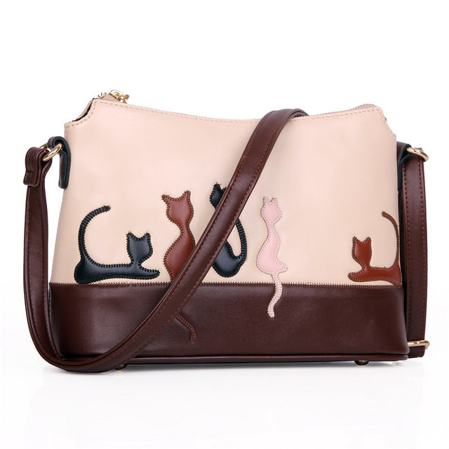 Fashionable Cat Shoulder Bag - I Love Cat Socks