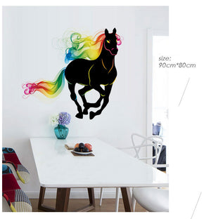 Colorful Horse Wall Sticker