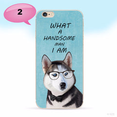 Funny Cats And Dogs iPhone Cases
