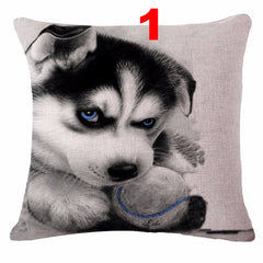 Cute Siberian Husky Pillow Cases