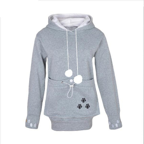 Cat Hoodie with Kangaroo Pocket - 25% Off For A Limited Time! - I Love Cat Socks