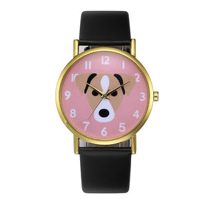 Cute Dog Pattern Wrist Watch