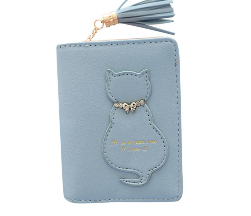Cat Tassel Clutches Wallet - I Love Cat Socks