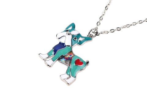 Colorful Pug Necklace - I Love Cat Socks