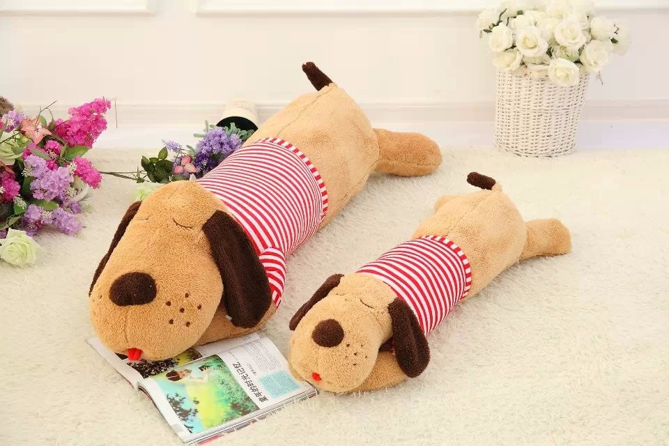 Long Body Sleepy Dog Plush Toy