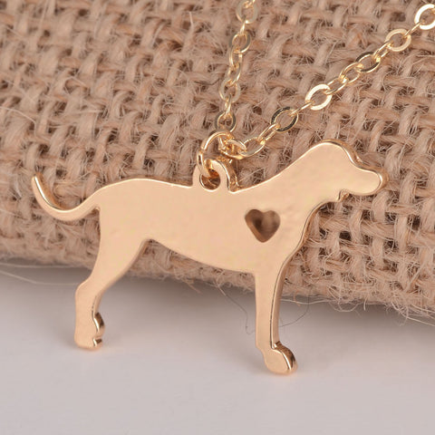 Image of Coonhound Necklace - I Love Cat Socks