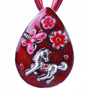 Horse Exquisite Long Necklace