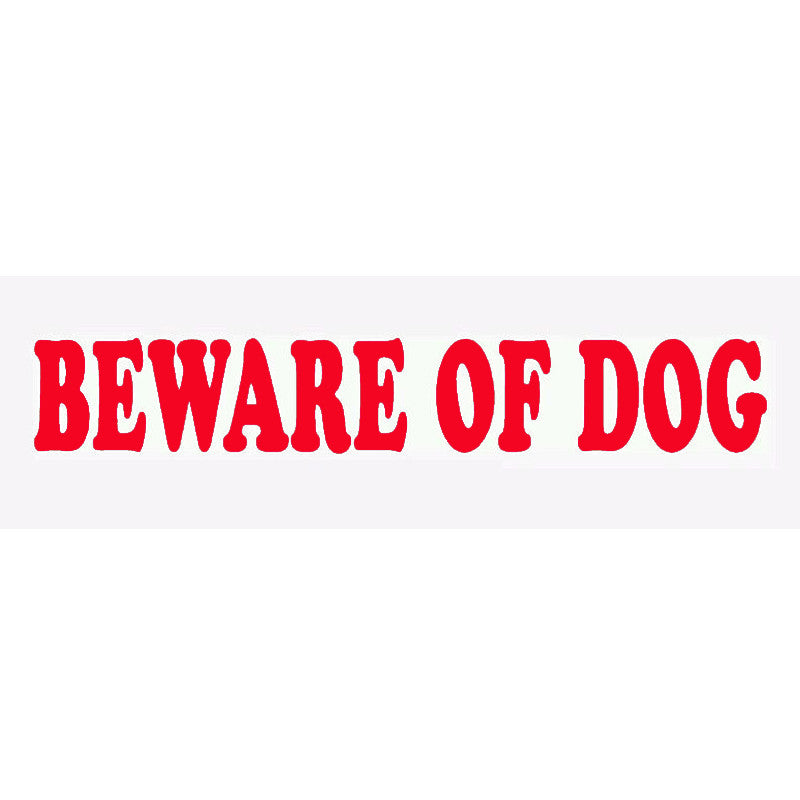 Beware Of Dog Car Decal - I Love Cat Socks
