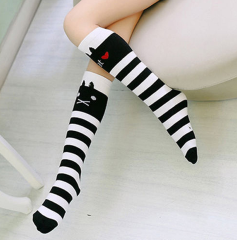 Adorable and Cool Knee High Socks for Children
