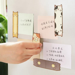Fun Cat Magnet Bookmark