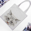 Cat Printed Shoulder Bag