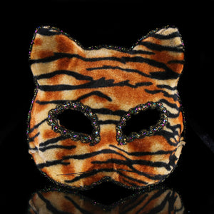 Elegant Cat Mask - Masquerade Ball Masks - I Love Cat Socks