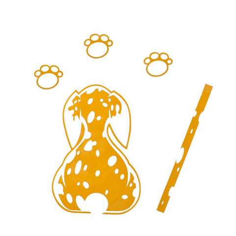 Image of Spotted Dog (Dalmatian) Rear Wiper Decal