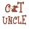 Cat Uncle Car Decal